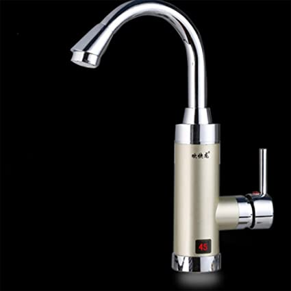 LIU-Electric Water Tap Calentador de agua eléctrico instantáneo sin tanque Grifo de grifo de