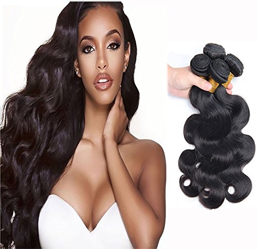 Shine Instant Compact Heat (Wendy Hair 9A Grade Body Wave Brazilian Smooth Straight Hair 3 Bundles Hair Weaves 16 18 20 Inch Virgin Bundles 300g Full Head Unprocessed Natural Black Hair Extensions For Black White Women)