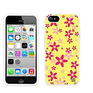 Iphone 5/ Iphone 5S (T-mobile,AT&T,Verizon,Sprint,International)Beyond Cell ?Premium Protection Slim Light Weight 2 piece Snap On Non-Slip Matte Hard Shell Rubber Coated Rubberized Phone Case Cover With Design - Yellow Sakura Design - Retail Packaging