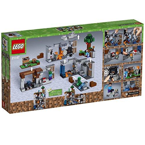 512qGGNAJLL - LEGO Minecraft The Bedrock Adventures 21147 Building Kit (644 Piece)
