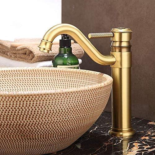 立体水栓 蛇口 全銅製ホースとBeakjifulキッチンシンクミキサータップ360度スイベルホットとコールドの浴室のシンクミキサー蛇口シングルハンドルの一つの穴レバーをタップ 万能水栓 台付