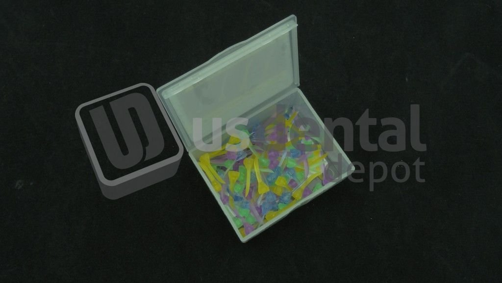 PLASDENT - Acuwedges Plastic Wedges - # WG-A - Assorted 4 Sizes (100 Pcs/Box) 001-WG-A DENMED Wholesale