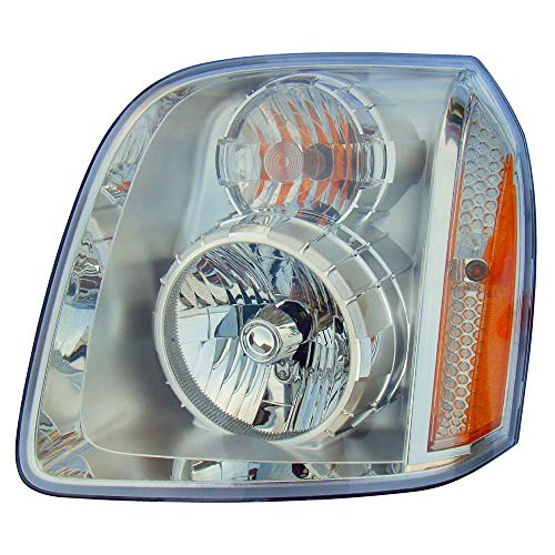 For 2007 2008 2009 2010 2011 2012 2013 2014 Gmc Yukon Denali | Yukon Xl Denali | Yukon Denali Hybrid Headlight Headlamp Assembly Driver Left Side Replacement GM2502318