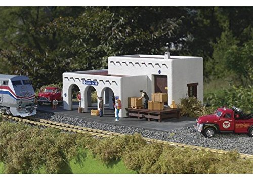 PIKO G SCALE MODEL TRAIN BUILDINGS - SANTA FE STATION for sale  Delivered anywhere in USA