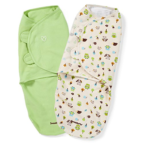 SwaddleMe Original Swaddle 2-PK, Woodland Friends (LG)
