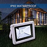 RGB LED Flood Lights, 10W Color Changing Outdoor