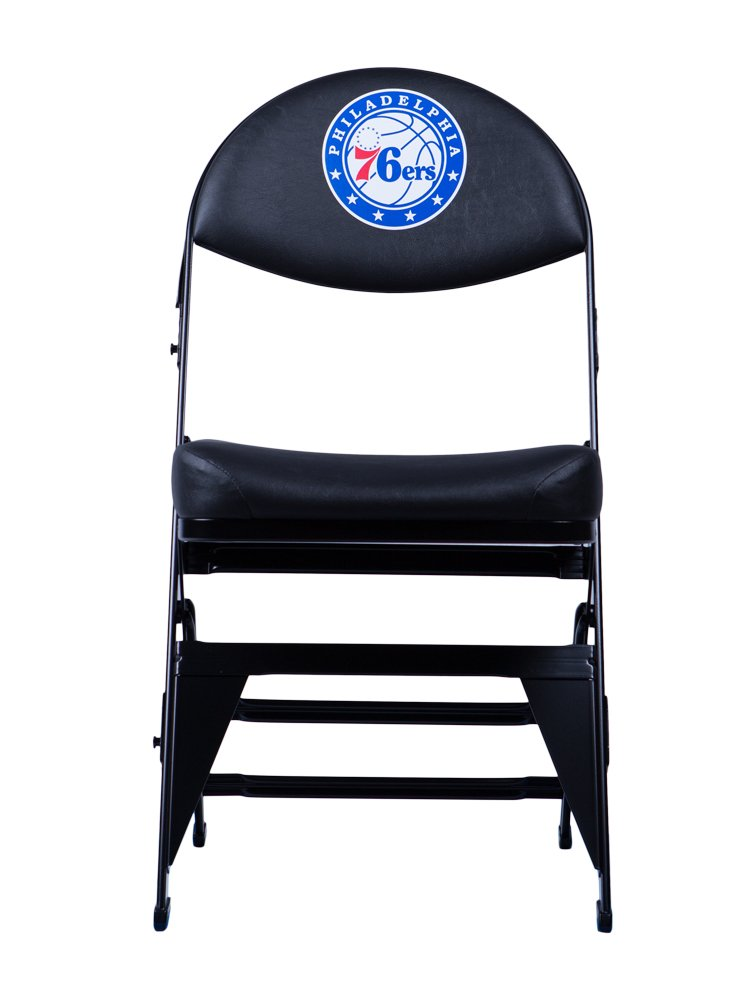 Spec Seats Official NBA Licensed X-Frame Courtside Seat Philadelphia 76ers by Spec Seats