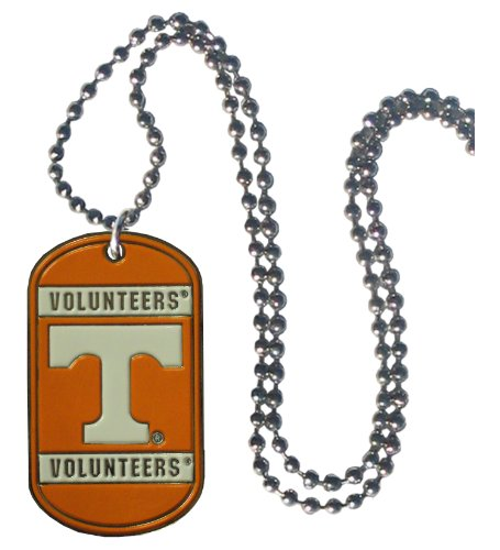 (Simran NCAA Tennessee Volunteers Dog Tag Necklace)