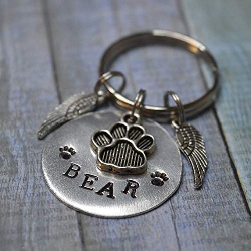 Personalized Pet Memorial Keychain