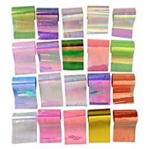 BORN PRETTY 20Pcs Starry Sky Nail Foils Nail Art Transfer Sticker Decal Fashion DIY Nail Tips Decoration