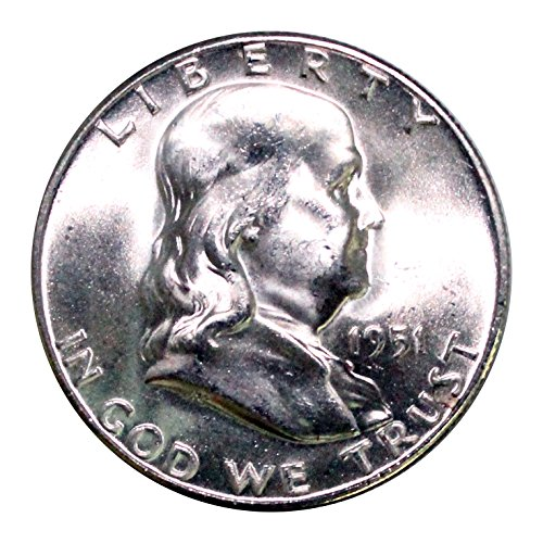 1951 S Franklin Half Dollar 50¢ BU ()