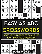 Easy as ABC Crosswords Start-Level Puzzles To Challenge Your Brain 100 Crosswords: Easy Crossword Puzzles For Adult Beginners