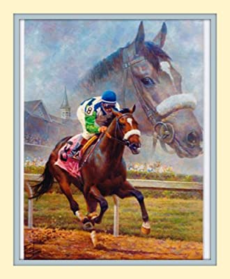 11x14 Barbaro Fred Stone Double Matted Art Print Large 8x10 Image