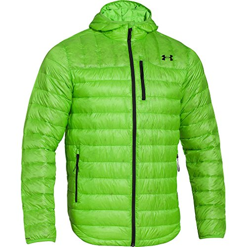 Under Armour Men's UA Storm ColdGear Infrared Turing Hooded Jacket Extra Large GECKO GREEN by Under Armour