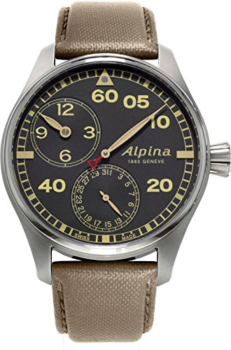 Alpina Geneve Startimer Manufacture Automatic Mens Watch Regulator Watch