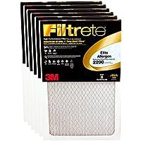 3m Allergen Reduction Filter Electrostatic, Ultimate 14  X 20  X 1  Electrostatic 2200 Mpr