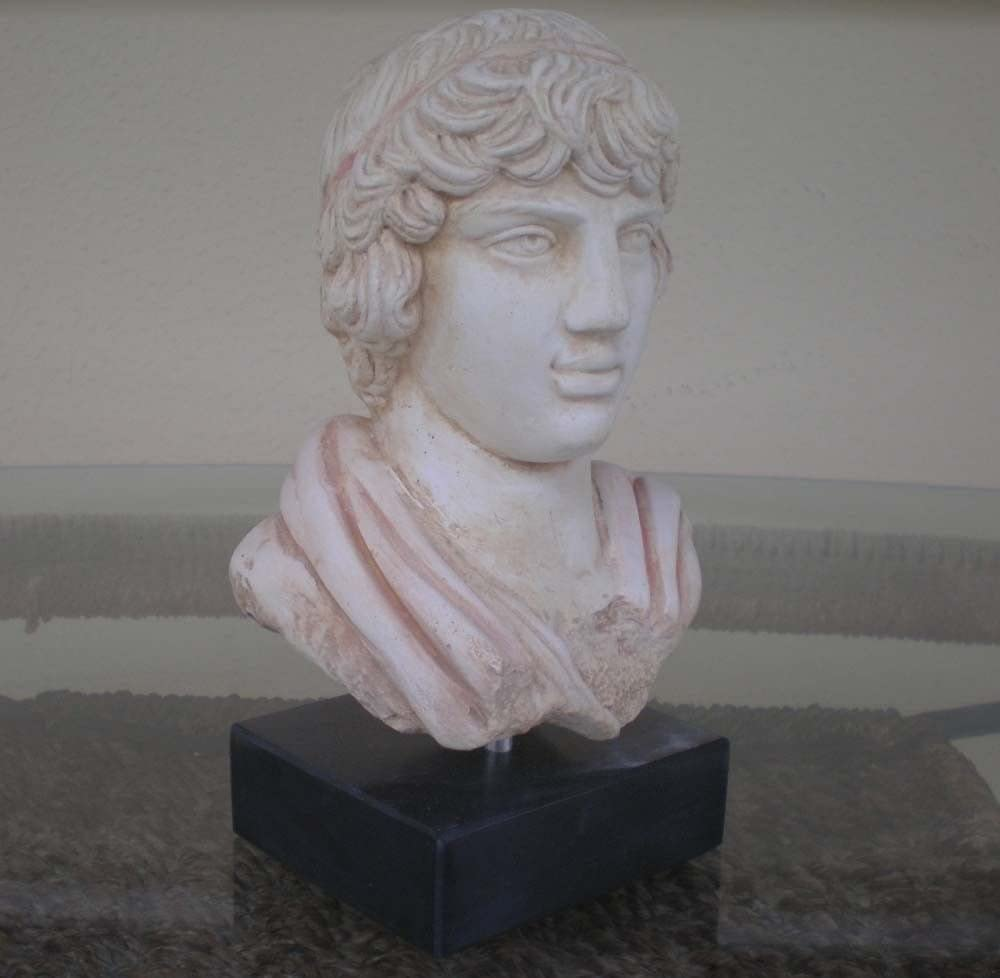 Emperor Hadrian Antinoos Estia Creations Antinous Bust Ancient Rome-Greece