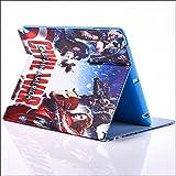Apple iPad Mini 1,2,3 Folio Avengers Case / Protective PU Leather Smart Flip Cover / iCHOOSE / Face Off