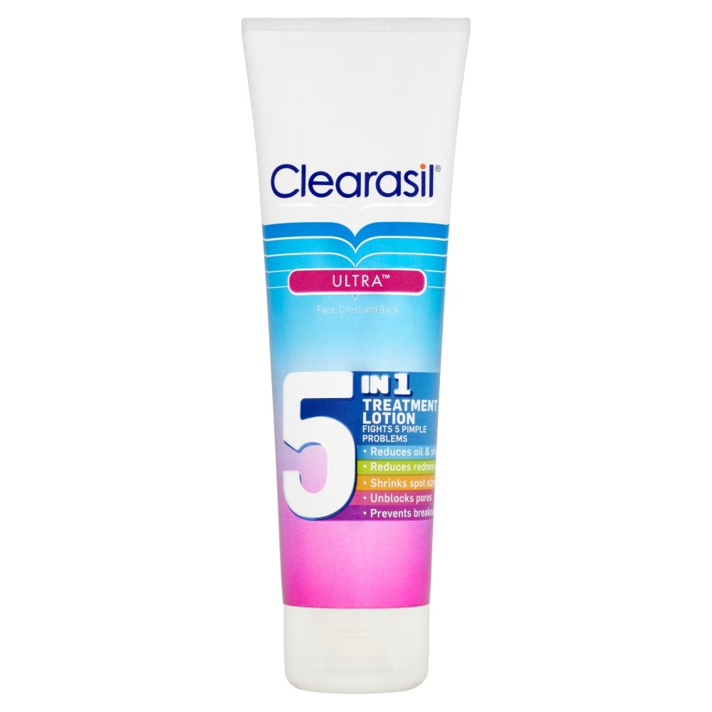 Clearasil 5in1 Treatment Lotion 100ml – Pack of 2 Reckitt Benckiser 3026244