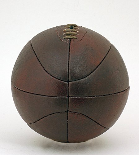 Jahrgang Bü ffelleder voller Grö ß e Basketball Retro-stil hand genä ht schnü r-kugel British Sports Museum BKT01