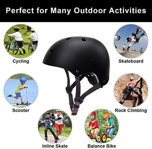 LANOVAGEAR Toddler Kids Helmet Adjustable CPSC Certified Helmet Impact Resist...