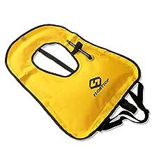 FLOATTOP Adult Snorkeling Life Vest Life Jacket For Snorkel