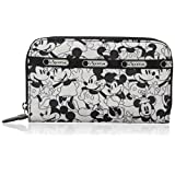 LeSportsac Lily Wallet, Mickey Loves Minnie, One Size