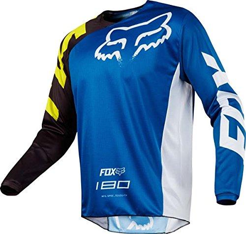 Fox Racing 180 Race Blue Jersey/ Pant Combo - Size LARGE/ 34W