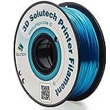 3D Solutech Blue 3D Printer Ultra PLA Filament 1.75MM Filament, Dimensional Accuracy +/- 0.03 mm, 2.2 LBS (1.0KG) - 100% USA