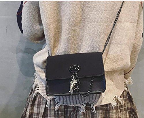 moda de nueva La bolsa bolso bolsa bolso bolsa cadena lateral mujer qwOC1