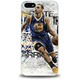 iPhone 5 5S case protective back cover with NBA Golden State Warriors No. 30 Stephen Curry #3