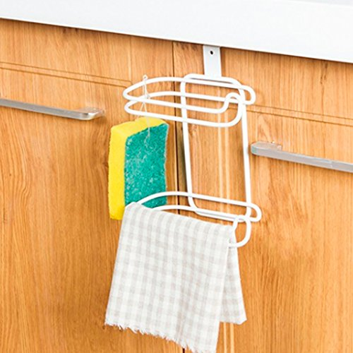 Techinal Bathroom Over Tank Toilet Paper Roll Holder - Double Roll Tissue Paper Storage by Techinal (Image #1)