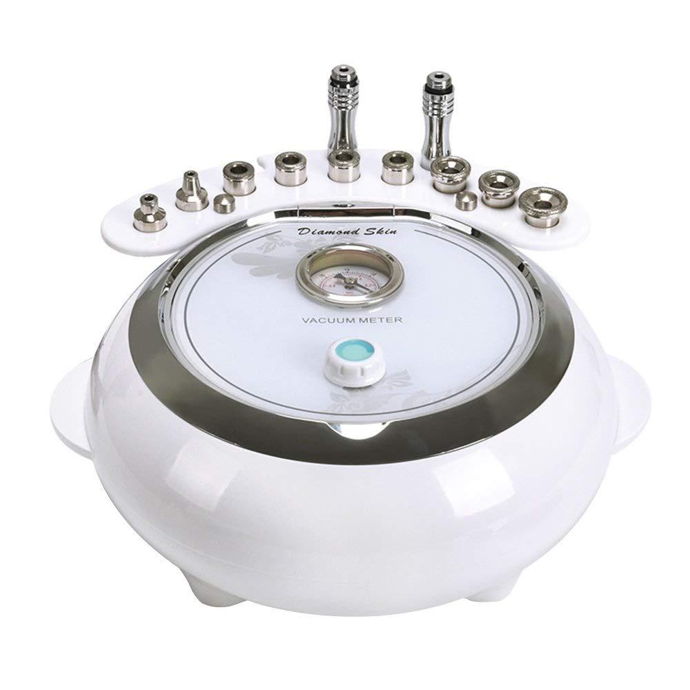 1で3ダイヤモンド皮膚剥離機マイクロダーマブレーション真空美容機器とスキンケアスプレー、スキンスクラバー機能、安全なスキンピール個人家庭用美容機 B07QXZXB53