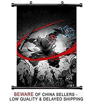 Amazon.com: Yaiba Ninja Gaiden Z Anime Fabric Wall Scroll ...