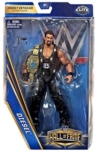 WWE Hall of Fame Elite Collection 6 Exclusive Diesel (Kevin Nash) Figure (Diesel Collection)