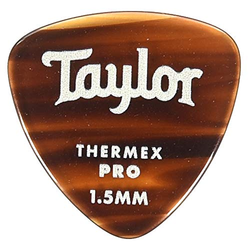 - Taylor Premium Darktone 346 Thermex Pro Picks Tortoise Shell 1.50mm 6-Pack