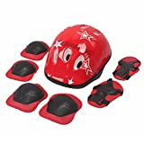 TFWDMX Protective Gear Set Helmet Knee Elbow Pads