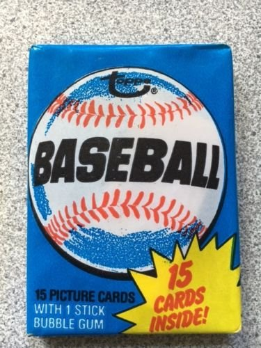 1980 Topps Baseball Sealed Wax Pack Straight From Box, Possible Ricky Henderson Rookie ()
