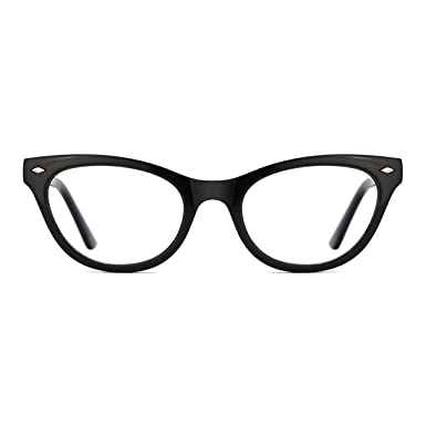 09f36ef939 TIJN Optical Eyewear Cat Eye Eyeglasses Frame with Non-Prescription Lens  for Women  Amazon.co.uk  Clothing