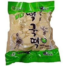2 Packs, Sekero Rice Cake,Korean Rice Cake, Rice Ovaletts, 24oz/pk x 2