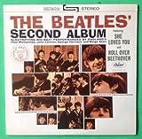 BEATLES Second Album LP Vinyl & Cover VG++ 1978 RE ST 2080 Capitol Purple Label