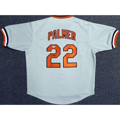 d0999851b Baltimore Orioles Jim Palmer Autographed Signed Gray Jersey