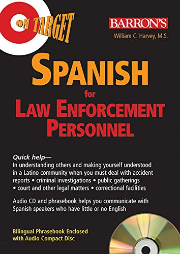 On Target: Spanish for Law Enforcement Personnel (On Target Audio CD Packages)