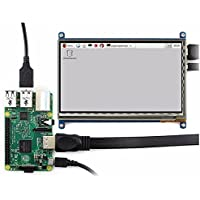 UTL 7 Inch 1024 x 600 HDMI Capacitive IPS LCD Module 5 Point Touch Screen Support Raspberry pi LCD Display