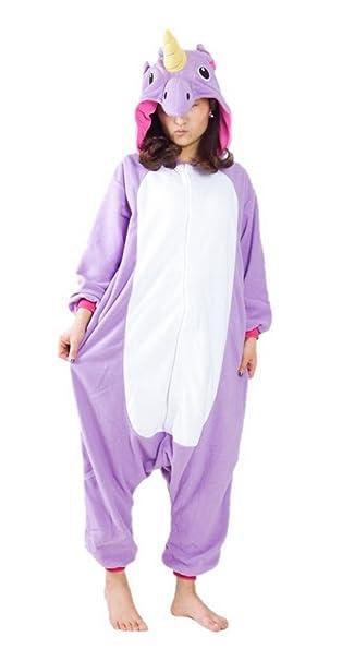 Aivtalk - Disfraz Pijama de Animal Unicornio Pelele Traje de Baño Bañador de una pieza para