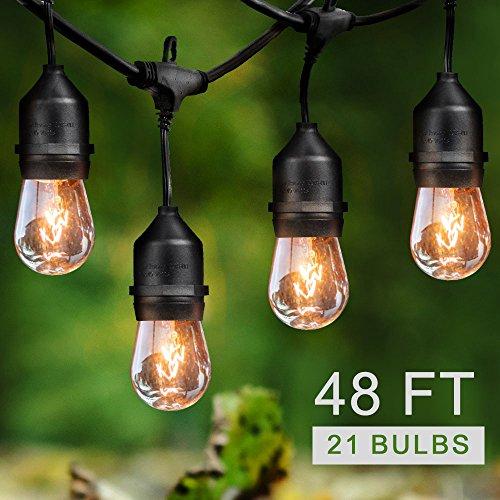 Outdoor Paper Lantern String Lights in US - 4