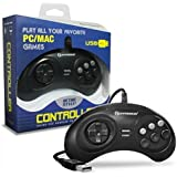 "Hyperkin ""GN6"" Premium Genesis USB Controller for PC/ Mac"