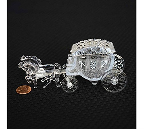 Carriage Topper Cake Wedding - NEW Royal Vintage Cinderella Horse and Carriage Coach Cake Topper Clear