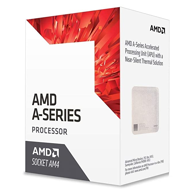 AMD AD9500AGABBOX Bristol Ridge AM4 A6 9500 APU 65 Watts Retail