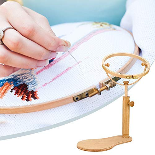 HEALLILY 10pcs Cross Stitch Cloth Classic Reserve Aida Cross Stitch Fabric Cloth for DIY Embroidery Craft